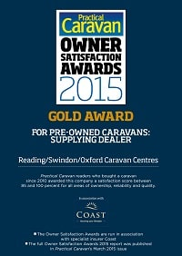 Used Touring Caravans Award