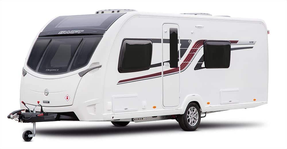 Unique The New Sprite By Swift Caravans Provides Plenty For The Price