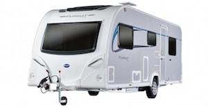 Bailey Caravan 2015 Range