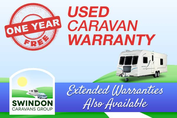 One year free used caravan warranty