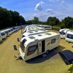 Sales Ground at Oxford Caravans