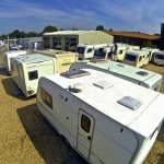 Reading Caravans from the back of the site