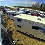 Aireal shot of Reading Caravans