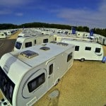 Caravan Showground in Wiltshire