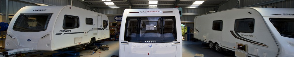 Caravan Servicing at Swindon Caravans Group