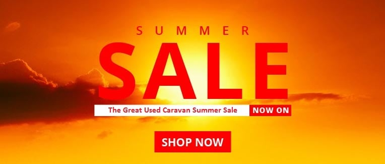 Used Caravan Summer Sale