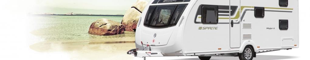 New Sprite caravans for sale at Swindon Caravans Group