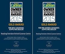 Swindon Caravans Group Practical Caravans Owner Satisfaction Survey Gold Award
