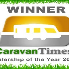 Swindon Caravans Group won the Caravan Times Dealership of the Year 2014