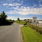 Entrance to Swindon Caravans