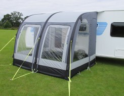 Air inflatable awnings