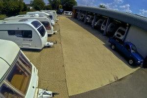 Workshop at Oxford Caravans