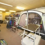 Reading Caravans Awning Showroom