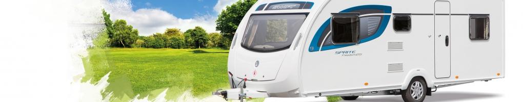 Sprite Freedom caravans for sale at the Swindon Caravans Group