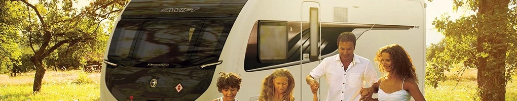 New 2019 Swift caravans for sale at Swindon Caravans Group