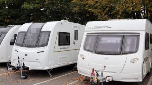 New caravan vs old caravan!