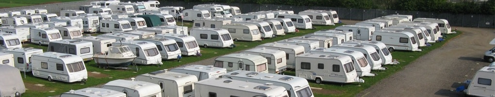 Caravan Storage Sites near Swindon, Oxford & Reading Caravans