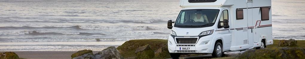 New Bailey Advance motorhomes for sale at Reading Caravans & Motorhomes